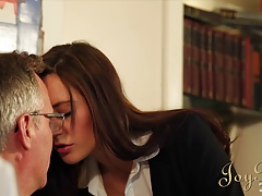 JOYBEAR Sexy Samantha Bentley rewarded by principal