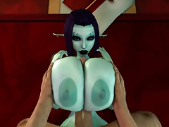 Tittyfuck Soria's Huge Soft Boobs! 3D